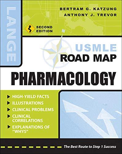 9780071445818: USMLE Road Map Pharmacology, Second Edition (LANGE USMLE Road Maps)