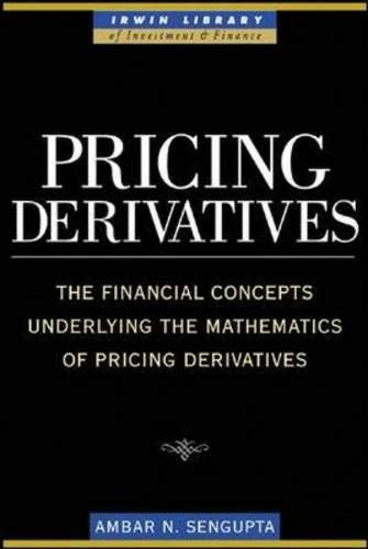 9780071445887: Pricing Derivatives (McGraw-Hill Library of Investment and Finance)
