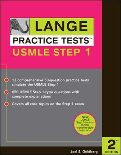 9780071446150: Lange Practice Tests for the USMLE Step 1