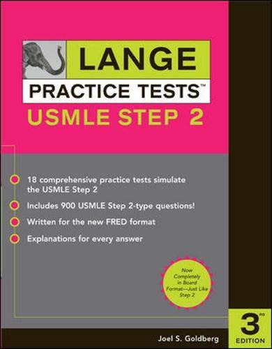 9780071446167: Lange Practice Tests for the USMLE Step 2 (LANGE Reviews USMLE)