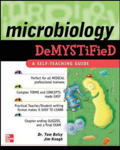 9780071446501: Microbiology Demystified: A Self-teaching Guide
