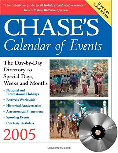 9780071446761: Chase's Calendar of Events 2005 (Book with CD-ROM)