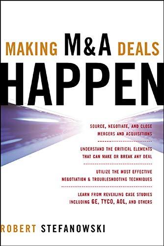9780071447409: Making M&A Deals Happen
