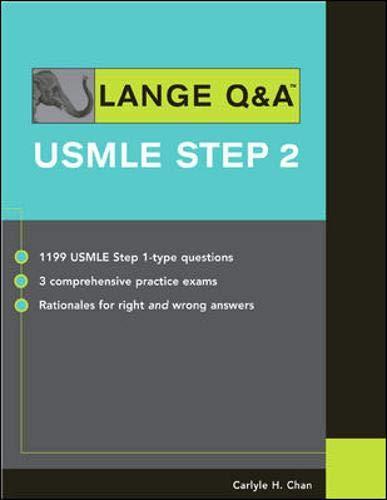 9780071447706: Lange Q&A: USMLE Step 2 (Lange's Review for the USMLE Step 2)