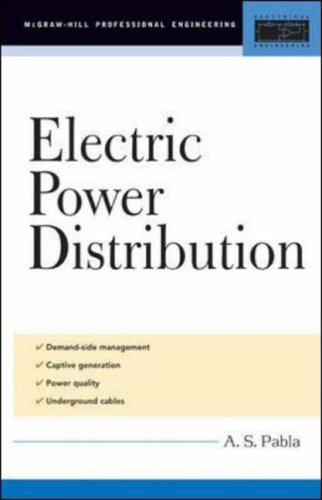 9780071447836: Electric Power Distribution (McGraw-Hill Professional Engineering)