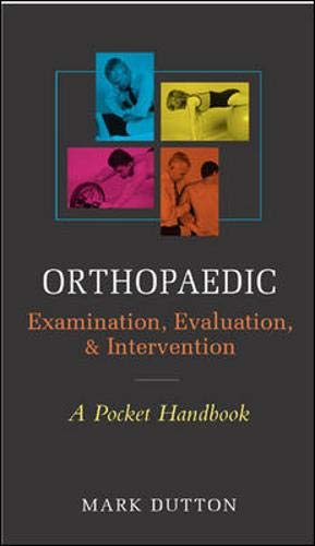 9780071447867: Orthopaedic Examination, Evaluation, & Intervention Pocket Handbook: A Pocket Handbook