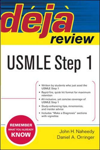 9780071447904: Deja Review USMLE Step 1