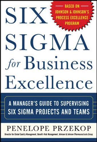9780071448093: Six Sigma for Business Excellence