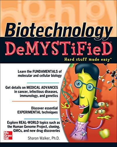 9780071448123: Biotechnology Demystified
