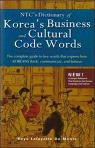 9780071448161: NTC's Dictionary of Korea's Business and Cultural Code Words