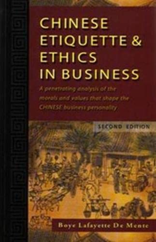 9780071448178: Chinese Etiquette & Ethics in Business (NTC Foreign Language)