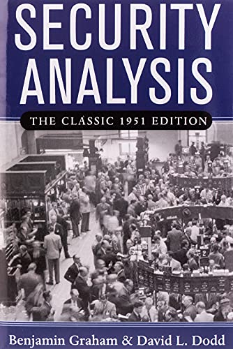 Security Analysis: Principles and Technique (The Classic 1951 Edition)