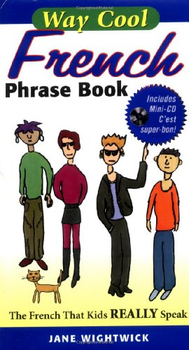 9780071448390: Way Cool French Phrasebook w/ Audio CD