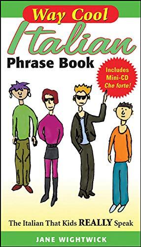 9780071448413: Way Cool Italian Phrasebook w/ Audio CD
