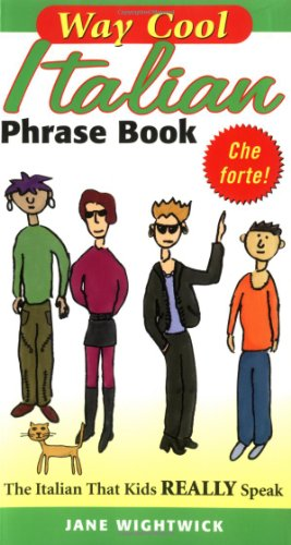 9780071448437: Way Cool Italian Phrasebook
