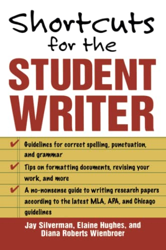 9780071448468: Shortcuts for the Student Writer