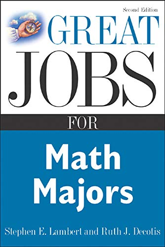 9780071448598: Great Jobs for Math Majors, Second ed. (Great Jobs For...Series)