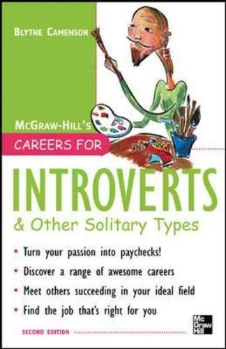 9780071448611: Careers for Introverts & Other Solitary Types, Second ed. (Careers For Series)
