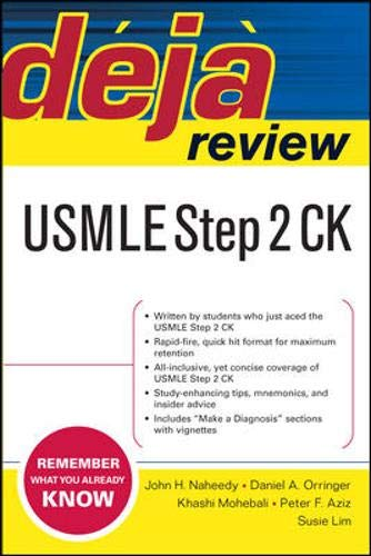 9780071448765: Deja Review USMLE Step 2 CK