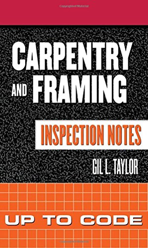9780071448864: Carpentry and Framing Inspection Notes: Up to Code