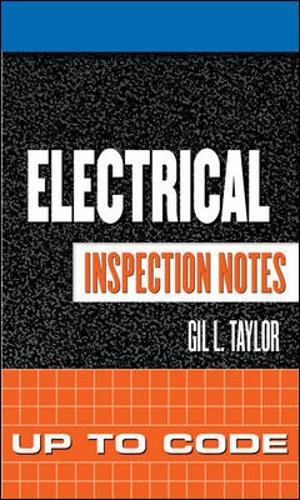 9780071448871: Electrical Inspection Notes: Up to Code