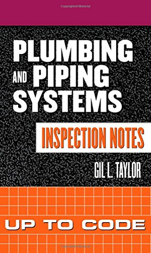 9780071448888: Plumbing and Piping Systems Inspection Notes: Up to Code