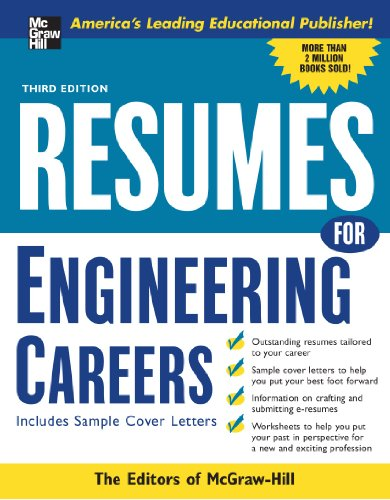 9780071448901: Resumes for Engineering Careers, Third ed. (McGraw-Hill Professional Resumes)