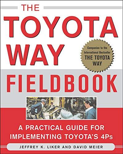 9780071448932: The Toyota Way Fieldbook