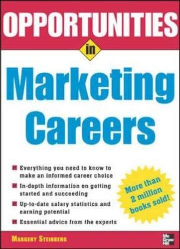 9780071448987: Opportunities in Marketing Careers, rev. ed. (Opportunities In...Series)