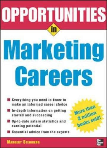 9780071448987: Opportunities in Marketing Careers, rev. ed. (Opportunities In...Series)