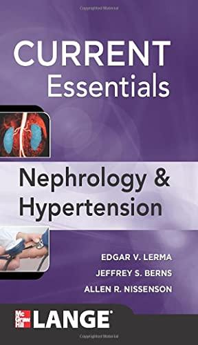 9780071449038: CURRENT Essentials of Nephrology & Hypertension
