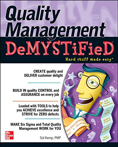 9780071449083: Quality Management Demystified