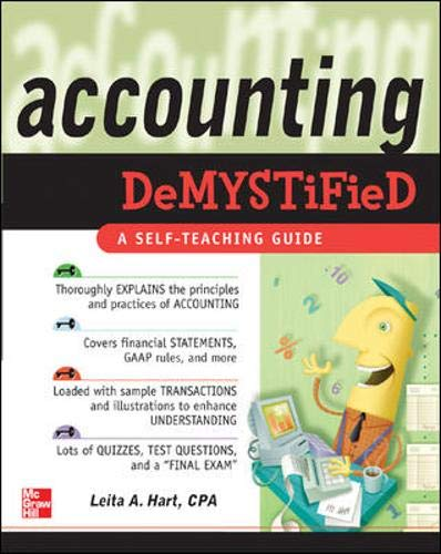 9780071450836: Accounting Demystified: A Self-Teaching Guide