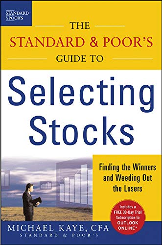 9780071450843: The Standard & Poor's Guide to Selecting Stocks: Finding the Winners & Weeding Out the Losers