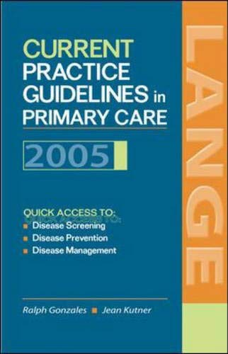 9780071450980: Current Practice Guidelines in Primary Care, 2005