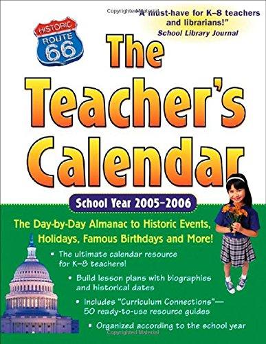 9780071450997: Teacher's Calendar 05-06 (Teacher's Calendar: The Day-By-Day Directory to Holidays, Historic Events, Birthdays & Special Days)