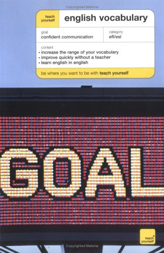 9780071451222: Teach Yourself English Vocabulary New Edition