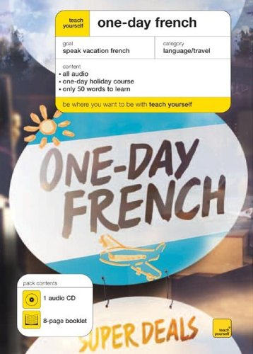 9780071451277: Teach Yourself One-Day French (Book + 1CD) (TY: Language Guides)