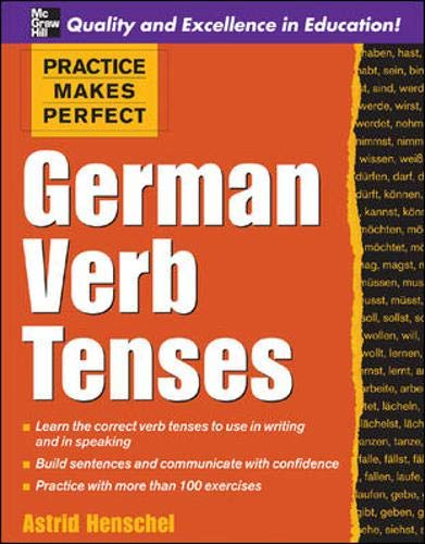 9780071451376: Practice Makes Perfect: German Verb Tenses (Practice Makes Perfect Series)