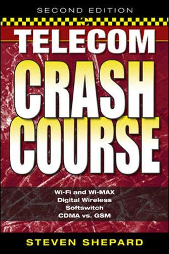 9780071451437: Telecom Crash Course