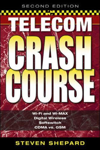 9780071451437: Telecom Crash Course, Second Edition
