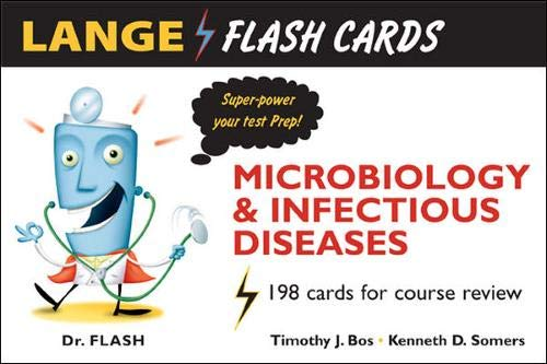 9780071451529: Lange Flash Cards Microbiology and Infectious Diseases