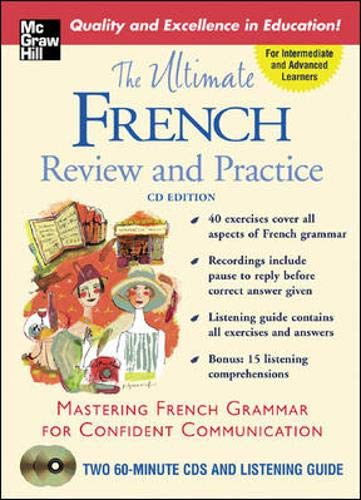 9780071451642: The Ultimate French Review and Practice (Book w/2CD's) (Uitimate Review and Reference Series)