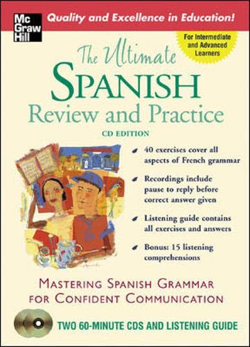 9780071451710: The Ultimate Spanish Review & Practice (Book w/2CDs)