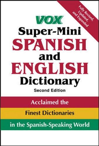 9780071451789: Vox Super-Mini Spanish and English Dictionary (Vox Dictionary Series)