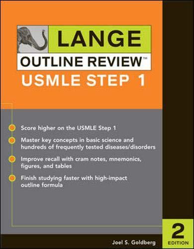 9780071451918: Lange Outline Review: USMLE Step 1, Second Edition (LANGE Reviews USMLE)