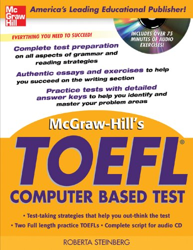 9780071451949: McGraw-Hill's TOEFL CBT with Audio CD (McGraw-Hill's TOEFL CBT (W/CD))