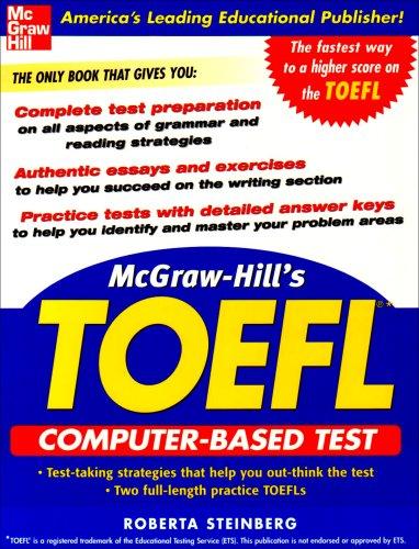 9780071451987: McGraw-Hill's TOEFL CBT