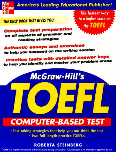 9780071451987: McGraw-Hill's TOEFL CBT