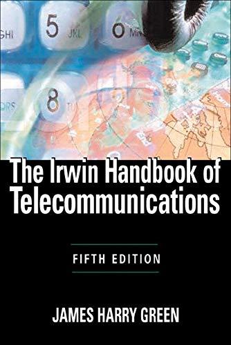 9780071452229: The Irwin Handbook of Telecommunications, 5E